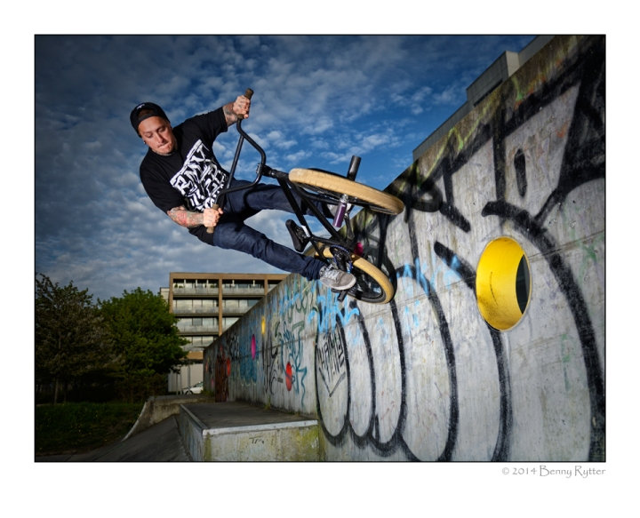 Michael Larsen Wall ride
